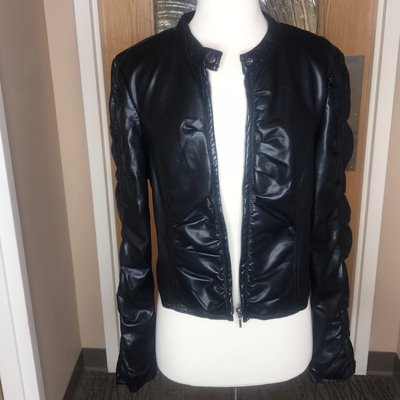 e9cdb93fe6 INC International Concepts Jackets   Blazers - INC Faux Leather Jacket